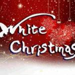 デザイン書道:作品1242「White Christmas」