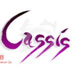 デザイン書道:作品2524「Cassis」